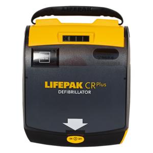Physio Control Lifepak CR Plus hjertestarter halvautomatisk