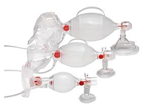 Ambu SPUR II - voksen med avtagbar O2-reservoar for ventiltilkobling m/maske str. 5