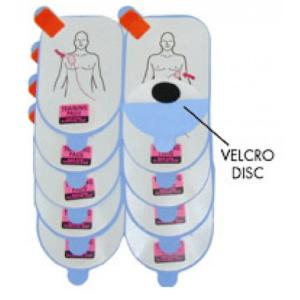 Defibtech LifeLine treningselektroder uten kabel (5pk.) - Voksen