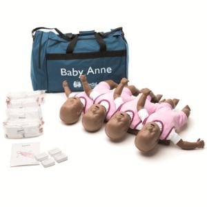 Laerdal Baby Anne(mørk hud) 4-pakning