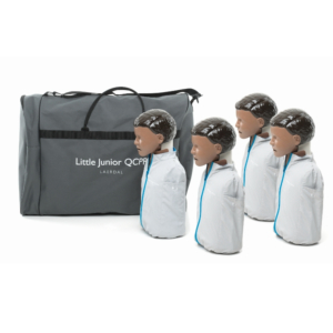 Laerdal Little Junior QCPR - mørk hud - 4 pack