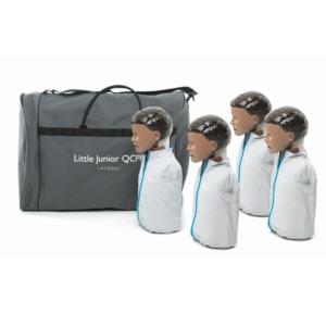 Laerdal Little Junior QCPR - mørk hud - 4 pack