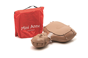 Mini Anne Plus treningsdukker, Unicolour 1 stk.