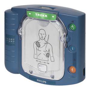 Philips Heartstart HS1 hjertestarter med gratis bæreveske