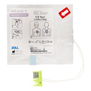 Zoll Pedi-Padz II elektroden